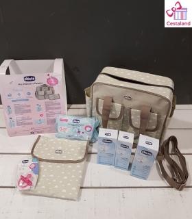 Bolsa maternidad CHICCO estrellas. Comprar bolso maternal