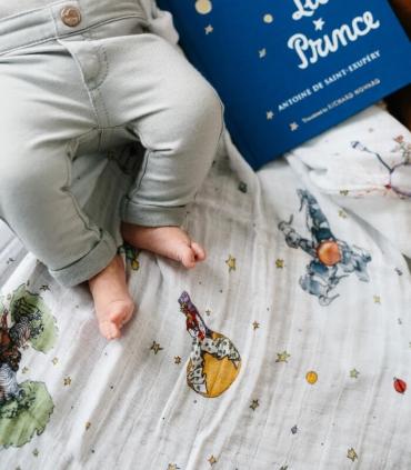 Muselina Algodón Principito. Comprar muselina para bebé