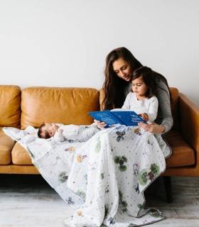 Manta Muselina Algodón Principito. Mantas para bebés