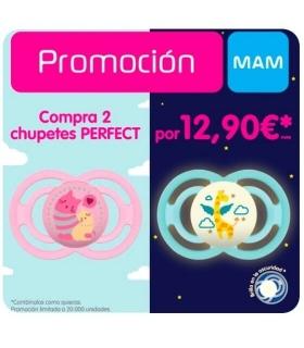 Promoción chupetes MAM Perfect 2x12,90€