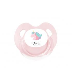 Chupete Personalizado Unicornio Rosa