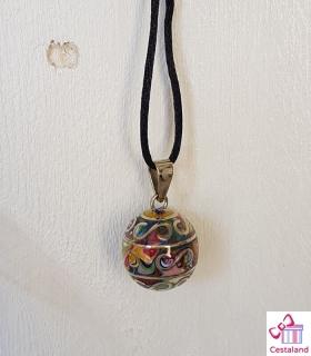 Llamador de ángeles Arco Iris. Bolas joyas para embarazadas. Regalos para embarazadas