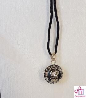 Llamador de ángeles Negro Maya. Bolas joyas para embarazadas. Regalos para embarazadas