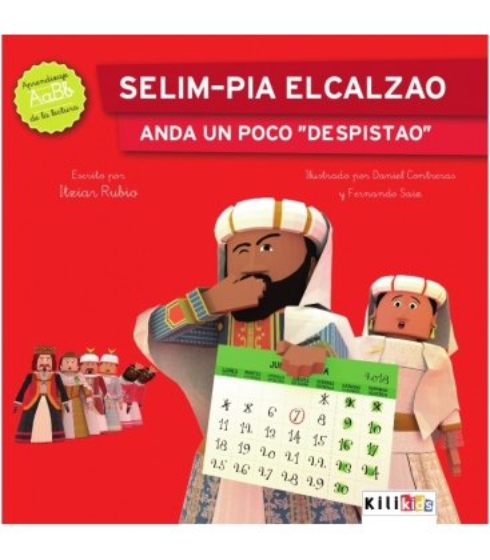 "Libro ""Selim-pia Elcalzao anda un poco despistao"" - Kilikids libros gigantes Pamplona"