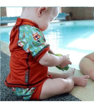Bañador Pañal Bebé y niños Close