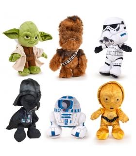 Peluche Star wars Yoda, C3pO, r2d2, Stormtrooper, Chebwaka