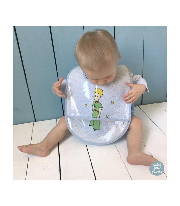 Babero impermeable para bebés El Principito.