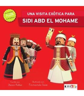 "Libro ""Sidi Abd Elmohame recibe una visita exótica"" - Kilikids libros gigantes Pamplona"