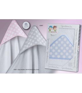 Capa Baño para Bebés 100% algodón grande. Comprar capa baño