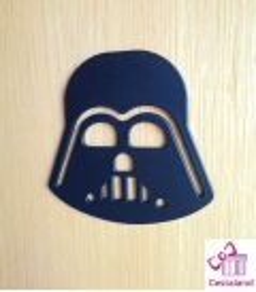 Máscara Darth Vader Decorativa madera. Decoración Star Wars