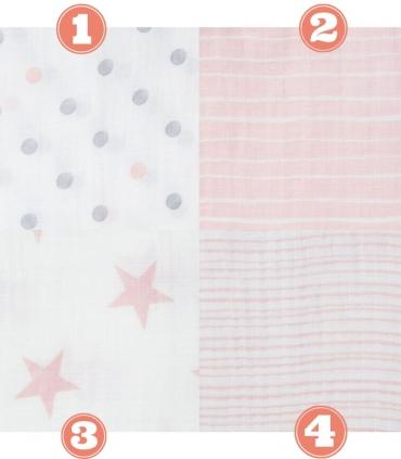 Muselina Aden + Anais grande 120x120cm algodón doll. Muselina essential