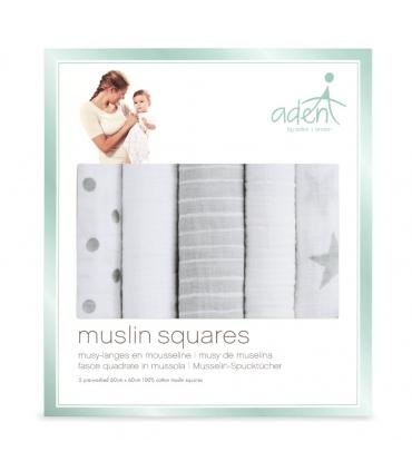Muselina Aden Anais dusty 70x70cm algodón. Musy essential