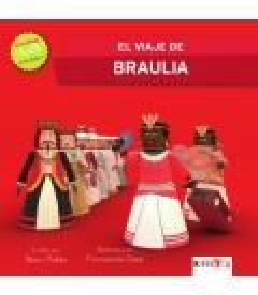 """Libro """"El viaje de Braulia"""" - Kilikids libros gigantes Pamplona"""