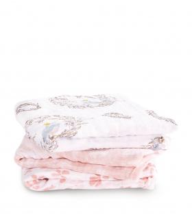 Muselina musy Aden Anais birdsong 70x70cm algodón. Comprar gasa bebé