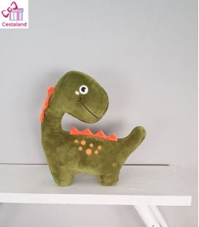 Peluche dinosaurio cojín