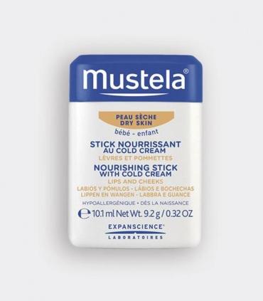 Stick mustela cold cream hidratante y protector