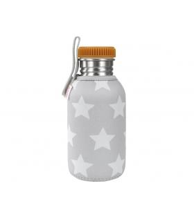 Botella acero con borde redondo apto para beber para niños