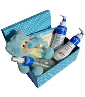 Cesta CARICIAS DE MUSTELA. Canastillas para recién nacidos