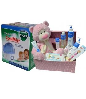 Cesta mustela OSITO SONRISAS. Comprar cestas para bebés