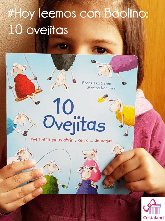 #hoyleemos con Boolino 10 ovejitas