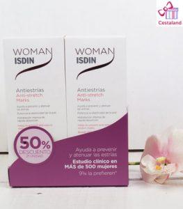 duplo oferta antiestías isdin woman