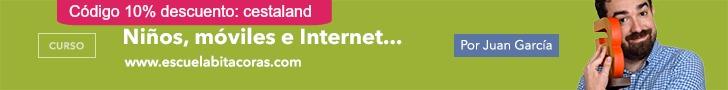 curso bitácoras descuento niños, móviles e internet