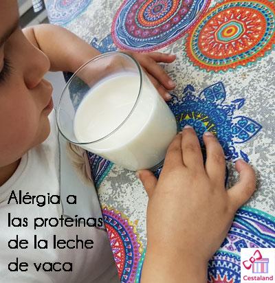 Intolerancia o alergia ala proteina de la vaca