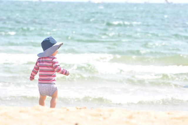 protección solar en bebés