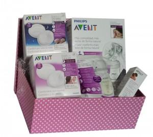 cesta lactancia plus. regalos para embarazadas