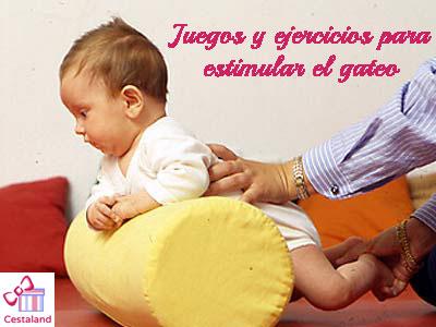 actividades para estimular el gateo en bebes