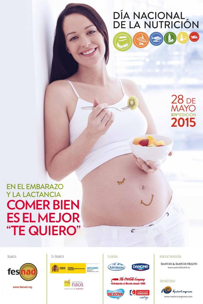 poster nutrición en embarazo