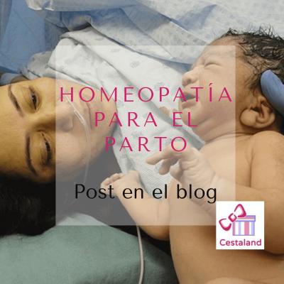 homeopatia parto