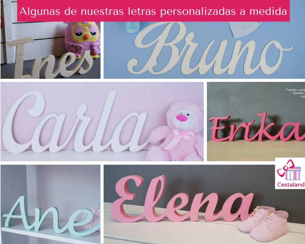 letras personalizadas collage