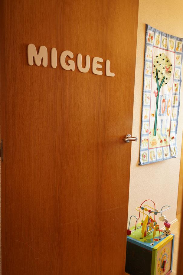 letras para decorar puertas infantiles