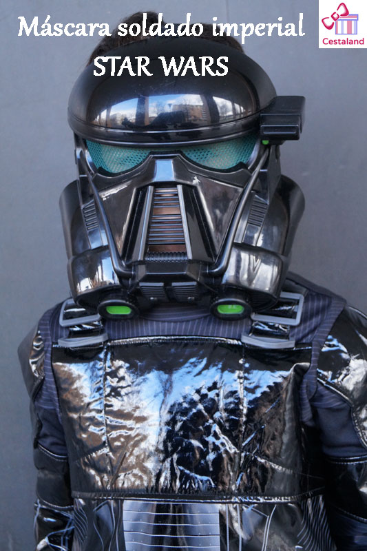 máscara soldado imperial. Complementos disfraces star wars