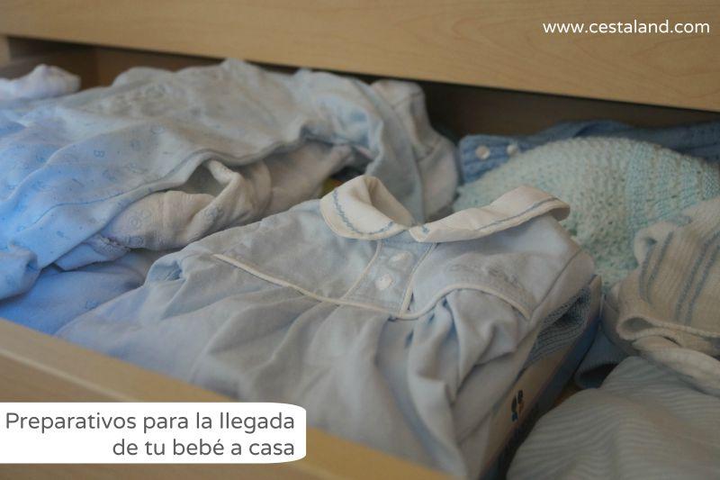 preparativos para la llegada de un bebé