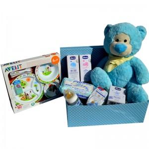 cesta para bebés rose et blue de chicco