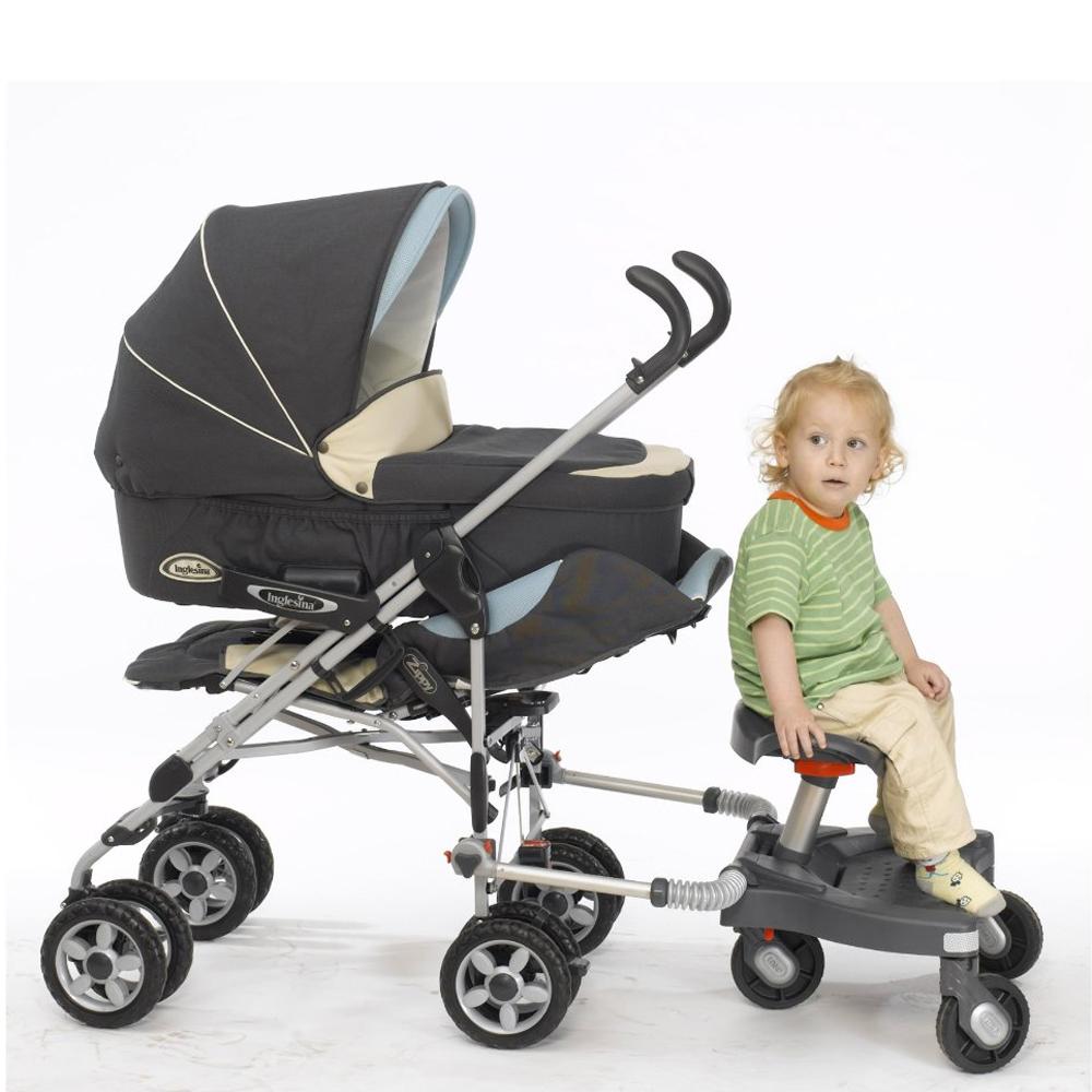 C mo llevar dos hermanos seguidos ii patinetes para sillas de paseo o sillitas sidecar - Patinete silla paseo ...
